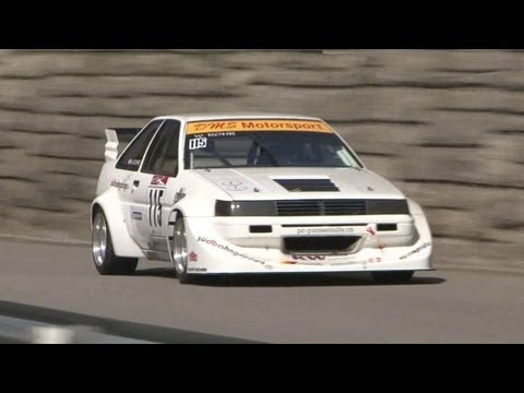 The fastest Hillclimb St. Ursanne 2012 - Sound, Speed & Flames Bergrennen EBM Porsche 935 FA30 FV11