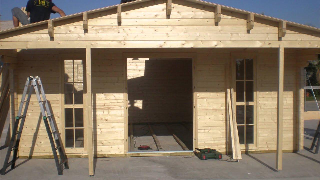 Tratamiento y mantenimiento de una casa de madera o caseta - Casa de madera jardin ...
