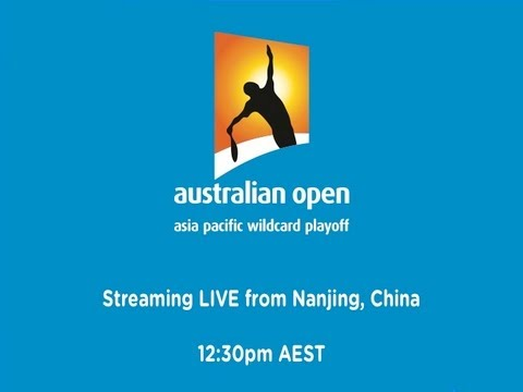 Asia/Pacific Wildcard Play-off Day 1 - Australian Open 2013