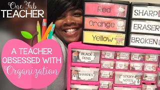 A Teacher Obsessed With Organization