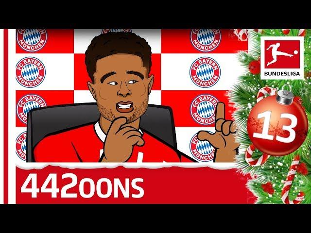 The Story of Serge Gnabry - powered by 442oons - Bundesliga 2019 Advent Calendar 13