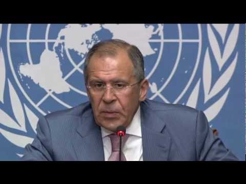 WorldLeadersTV: SYRIA: UN ACTION GROUP FORGES NEW PEACE PLAN in GENEVA 30June PT3
