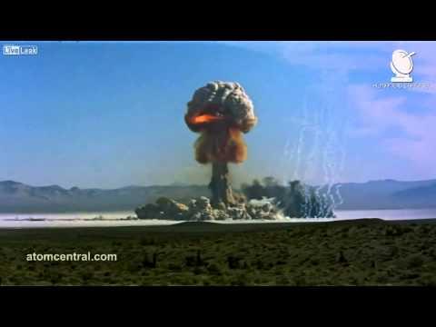 Aterrador! Compilación de EXPLOSIONES DE BOMBAS ATÓMICAS