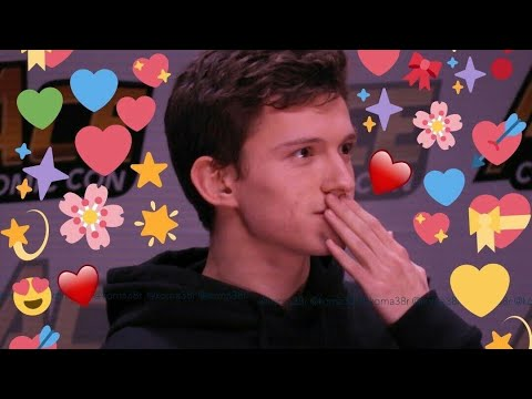 Tom Holland being the cutest human for 18 minutes straight thumbnail