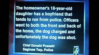 POLICE BRUTALITY: Scumbag Cops Shoot Dog For No Reason While Trespassing On Private Property