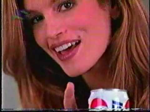 Cindy Crawford, Tyra Banks, Bridget Hall & Pepsi