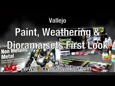 Vallejo Paint, Weathering & Diorama sets First Look