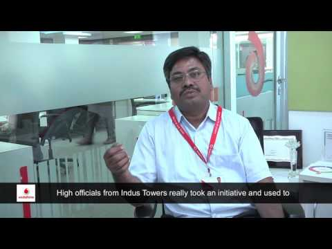 Words of Appreciation  by India's 2nd largest telecom operator and Indus Customer