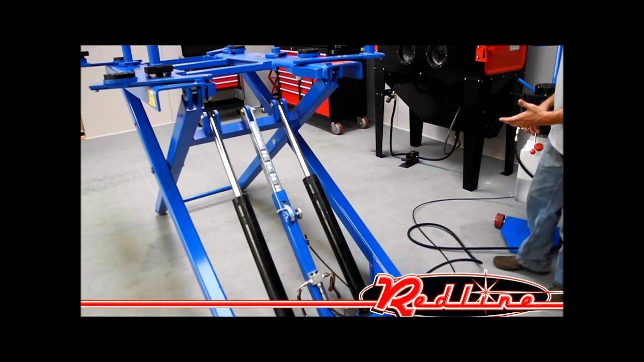 48 Quot Mid Rise Automotive Scissor Lift Youtube