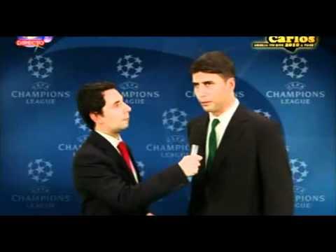 Zé Carlos -  Paulo Bento ganha a Champhions League