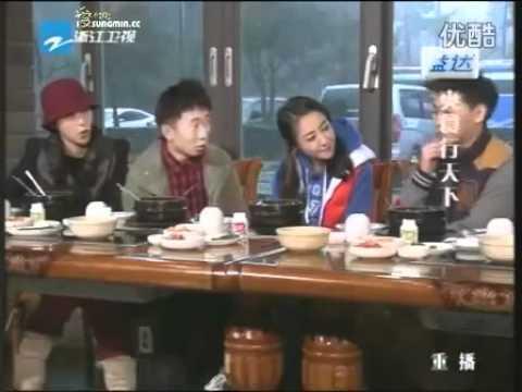 120510 Zhejiang TV _Shuang Shi Xing Tian Xia_ with Sungmin [ENG SUB]