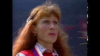 Ceremony 1988 Olga Bondarenko Soviet Union Anthem