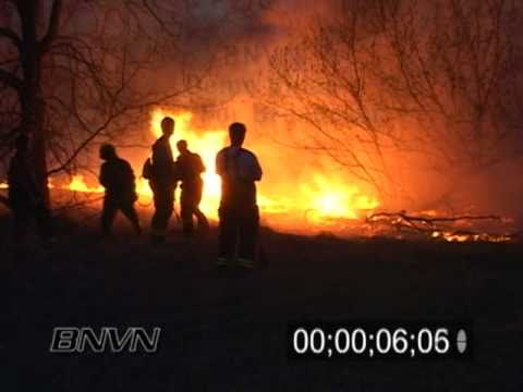 4/14/2004 Eagan MN Wild Fire Video
