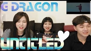G DRAGON Untitled 2014 M V Reaction