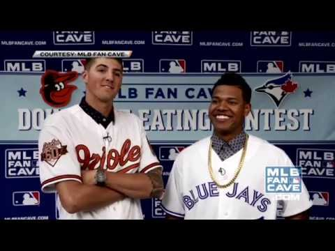 Kevin Gausman faces Marcus Stroman in a doughnut eating contest