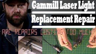 Gammill Laser Light Replacement Repair