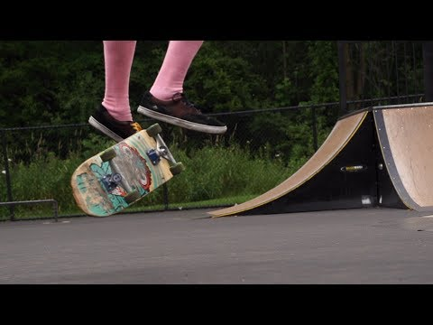 Casper flip skateology with Jarod Casey
