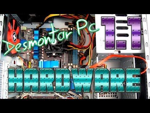 Componentes - Como desmontar paso a paso un ordenador de sobremesa