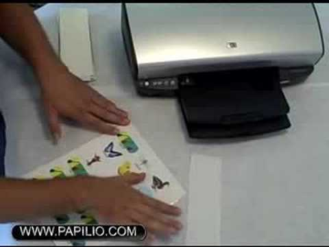 How to make fun temporary tattoo using you inkjet printer and paper from