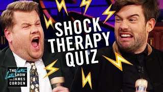 Shock Therapy Quiz w/ Jack Whitehall & James Corden