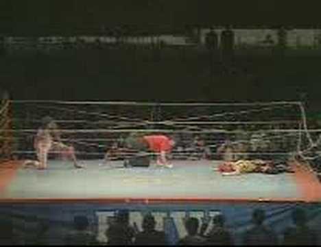 Megumi Kudo vs Combat Toyoda