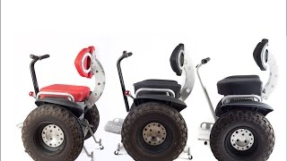 New Segway wheelchair. The improved Sui Generis Buddy Seat