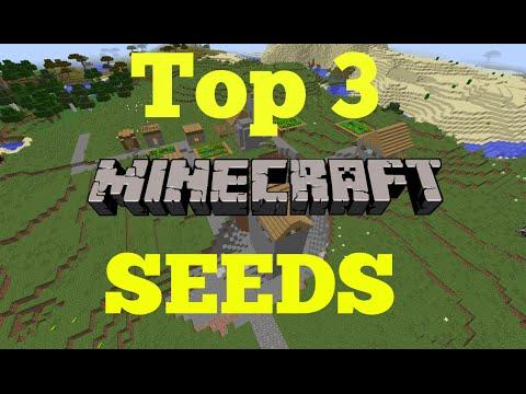 Top 3 Minecraft seeds 1.8 - 2014
