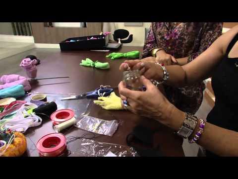 Mulher.com 05/02/2014 - Dobradura com Toalhas - Nancy Mendes