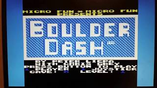 C64 Emulator on Tensy 3.6 VGA test