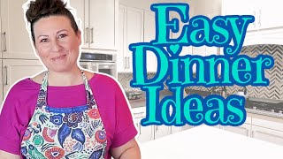 What's For Dinner? - Less than 30 MINUTE Meals - Bonus Grocery Haul
