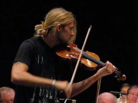 DAVID GARRETT - EXCLUSIVE REHEARSAL - Mendelssohn extrait (cadenza...