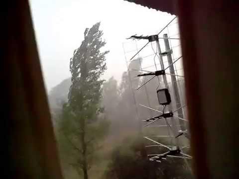 Oberwanie Chmury W Radomiu (Storm In PL Radom) 18.07.2015r