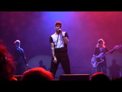 Adam Lambert-Red House, Dragon Attack,Shady(1st part)-12/31/13 NYE-Winstar World Casino