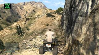 GTA 5 - Where to find a quad on mount Chiliad