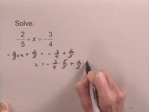 Introductory Algebra Ch2 Ex8