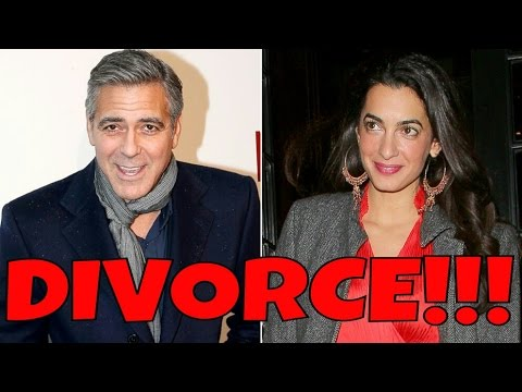 George Clooney Amal Alamuddin DIVORCE !!!
