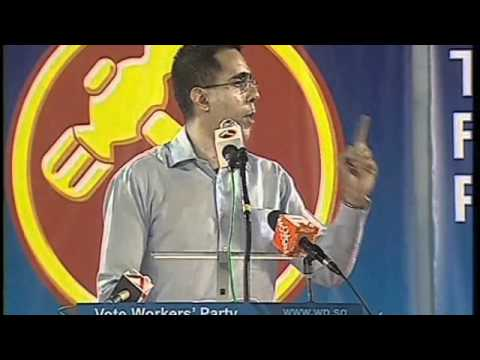 WP's Pritam Singh at Aljunied GRC rally, April 29