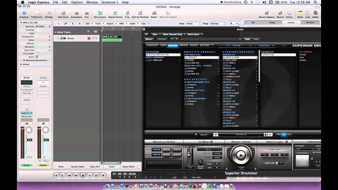 how to make a basic techno track logic