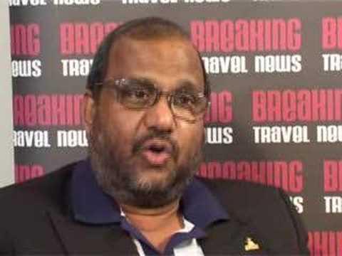 Renton de Alwis, Chairman, Sri Lanka Tourism @ WTM 2007