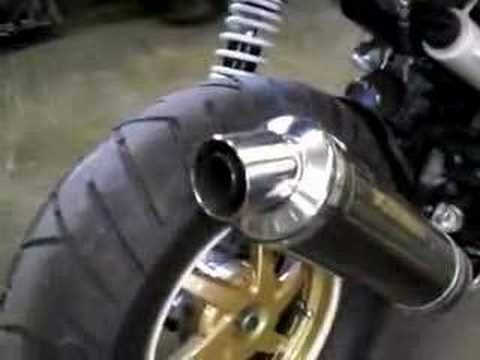 2006 Honda Ruckus with Yoshimura Carbon Pipe Video