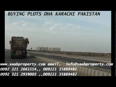 BUYING RESIDENTIAL / COMMERCIAL PLOTS IN DHA DEFENCE HOUSING AUTHORITY KARACHI PAKISTAN REALESTATE
