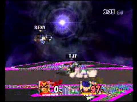 Project M Friendlies: spicy (falcon) vs 'sexy' ryan (ike)