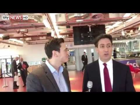 Selfie Stick Interview: Ed Miliband MP
