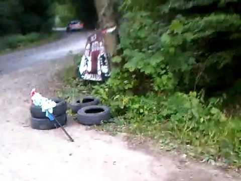 Rallye - Salva un accidente a toda velocidad