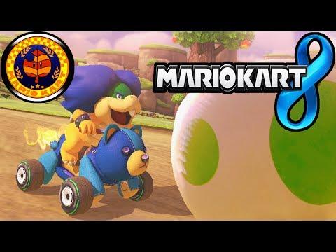 Mario Kart 8: Leaf Cup 150cc Yoshi Valley & New Character Gameplay Walkthrough PART 7 Wii U HD