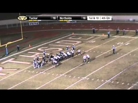 Play of the Year for the Tucker Tigers in the 2011 GHSA Semi-finals