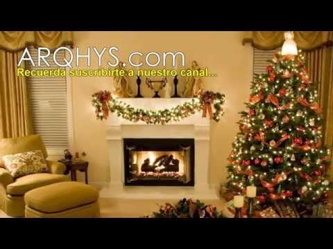 Ideas para decorar en navidad. 2014 - Salas, adornos, casas, regalos, espacios, interiores.