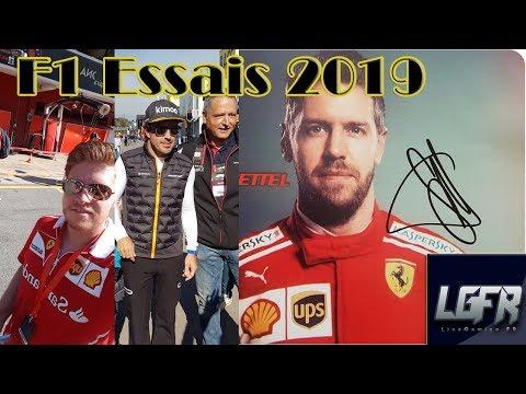 F1 ESSAIS HIVERNAUX 2019 | DÉBRIEFING DU SÉJOUR