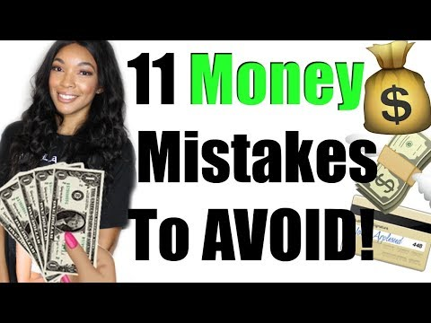 11 Money Mistakes to Avoid | Brittany Daniel