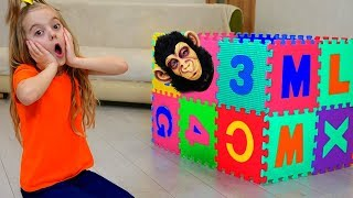 Magic Boxes, Learn Colors With Nursery Rhymes Song, for Children